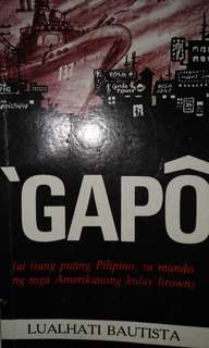 Gapô by Lualhati Bautista (with autograph)