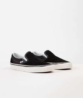 Vans anaheim dx slip-on balenciaga off-white