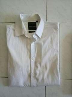 Benjamin Barker White Shirt[Size 14.5]
