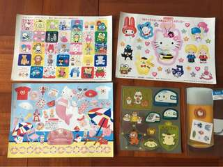 Sanrio Stickers A
