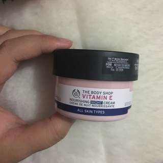 The Body Shop Vitamin E Night Cream