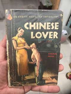Vintage Book - Chinese Lover