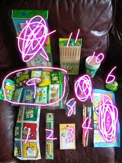 keroppi 日本絕版精品(每item$39)