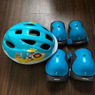 Kids Helmet Elbow/Knee Pad Set