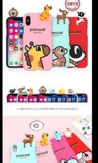 Korea Silicone casing with cute animals
