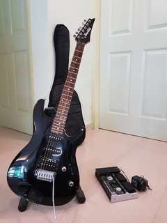 Ibanez Electric Guitar with Multi effect