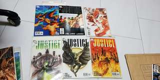Justice by alex ross #1 to #7 include variants