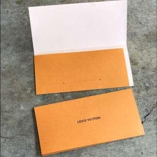 FOR SALE : AUTHENTIC LOUIS VUITTON Receipt Envelope