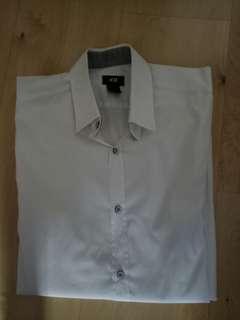 H&M White Premium Shirt(Size S)