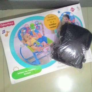 Fisher Price Baby Rocker with FREE Baby Carrier