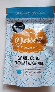 Tealish Dessert Gourmet Tea Caramel Crunch