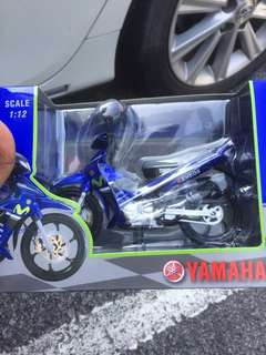 Diecast 125zR coverset Movistar