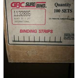GBC SURE BIND STRIP