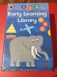 Ladybird early learning library- set of 7 books