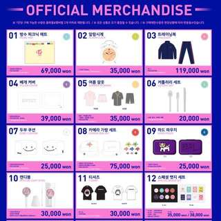 [Order Closed. Please do not message me about this. I will reply all earlier messages now] TWICE 2nd Tour TWICELAND Fantasy Park Official Goods