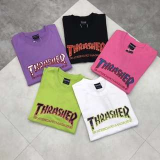 562 Thrasher Embroidered Tee