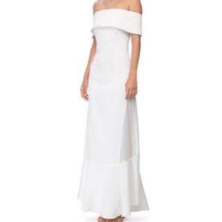 Long White Camilla and Marc Dress