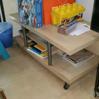 TV console table stand