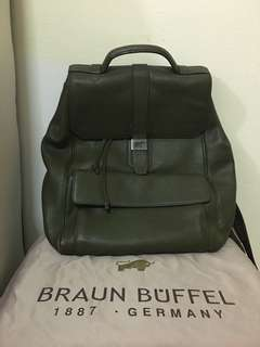 Braun Buffel Backpack/laptop bag