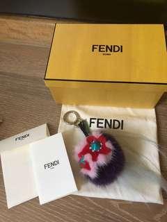 Fendi FLOWERY MINI Bug bag charms
