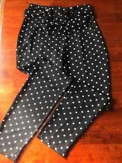 Polka Dot Cigarette Trouser