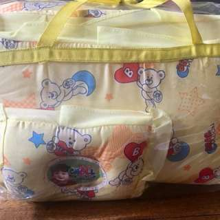 Pillow with comforter for babies