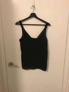 Black Zara Tank top