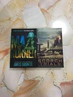 Maze runner Book 1 & 2