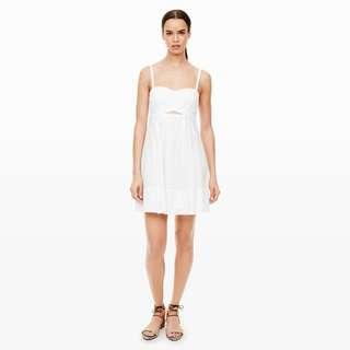 Club Monaco Tamarah Eyelet Dress - size 4