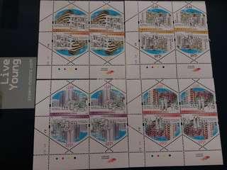 中國香港 郵票 香港公共房屋的發展