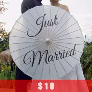 [CLEARANCE] Wedding Bamboo Parasol Photo Props Vintage Garden Style