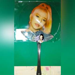 Girls' Generation Sunny Holiday to Remember Transparent Fan