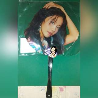 Girls' Generation YoonA Holiday to Remember Transparent Fan