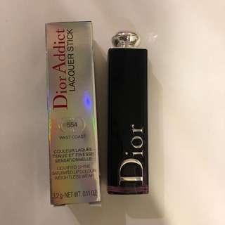 🚚 Dior 迪奧 超模光釉唇膏 #554 West Coast