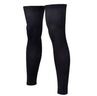 Sport Compression Leg Sleeves (All Black)