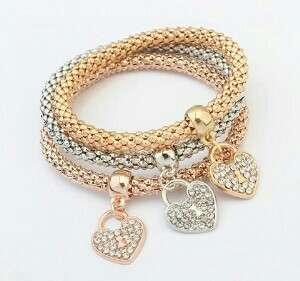 Trio Fashionable Bracelet