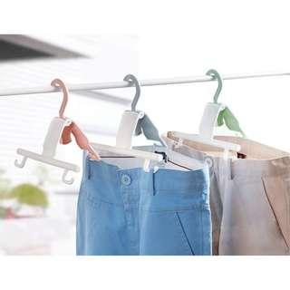預購E:專利防滑易乾曬褲衣架(6個一組)