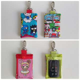 Jujube ezlink/car key holders