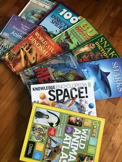 Hard cover Science Books -Great Condition ! All 10 books for $98