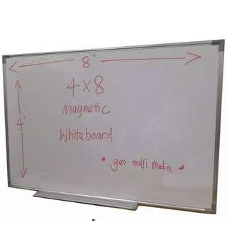 White board untuk dijual 8x4 kaki