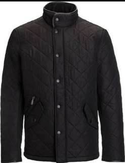 powell quilted mens jacket