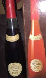陳年老酒,長頸FOV特級干邑700ml,怡豐洋行代理,香港㣔貨,每支