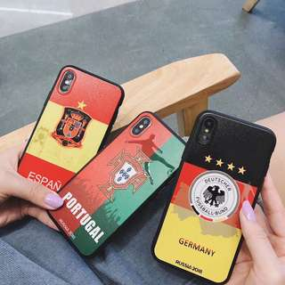 【PO】World Cup Fever Iphone Cases - 3 different type