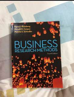 Understanding Business Research Methods
