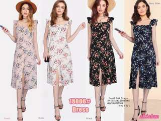 FRONT SLIT DRESS Fits S To L  Price : 450