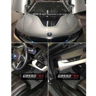 Carmat/Floor mat customisation - BMW I8