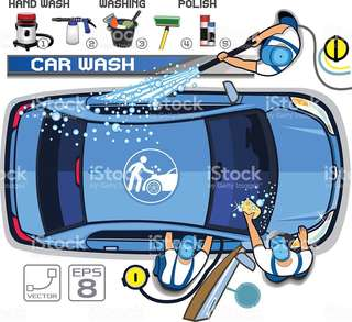 Car washing service