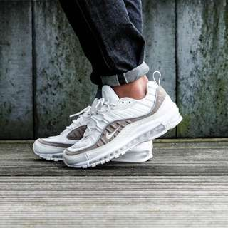 [NEW] Nike Air Max 98 Sail White