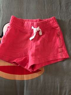 PL carters pink shorts (2T)