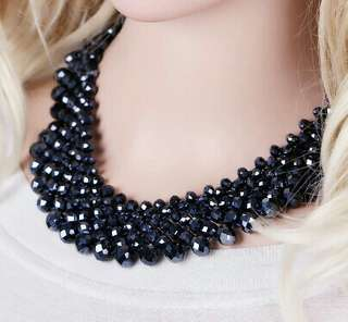 FASHIONABLE BEADS NECKLACE SET
